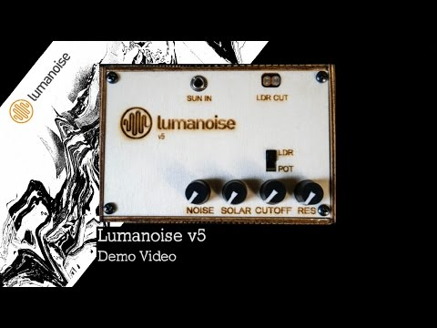 Lumanoise v.5 Solar Synthesizer Demo #TTNM