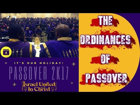 The Israelites: The Ordinances Of Passover