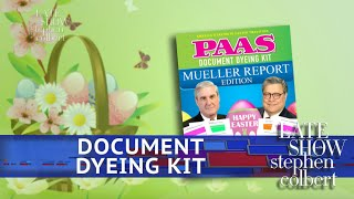 Color Code Your Own Mueller Report