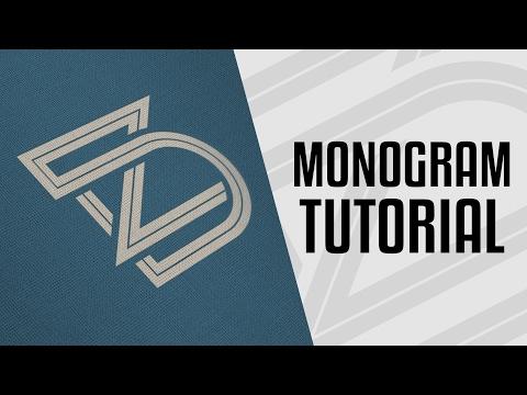 Tutorial | Monogram Logo Design Process - Illustrator CC