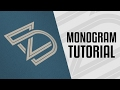 Tutorial | Monogram Logo Design Process - Illustrator CC