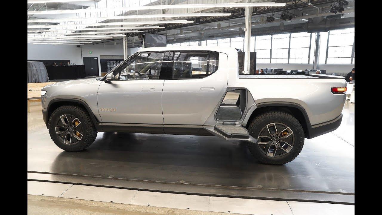 2020 Rivian R1t Off Road Electric Pickup Truck