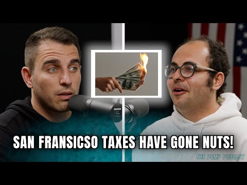 San Francisco Taxes Have Gone Nuts! | Joshua Browder | POMP PODCAST CLIPS