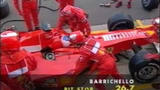 F1 British GP 2000 Rubens Barrichello Retirement