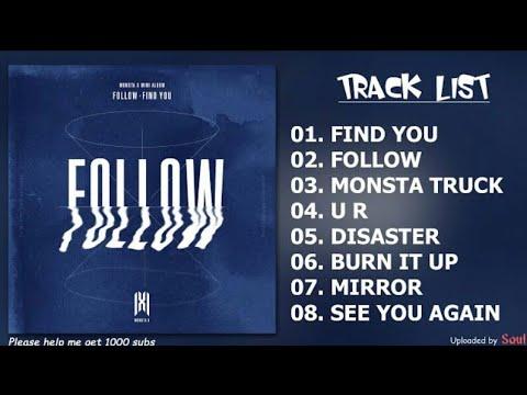 Download MONSTA X - FOLLOW _ FIND YOU Full Album Mp4 baru