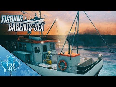 Fishing: Barents Sea #1 | The frist Cod Haul $$$ |