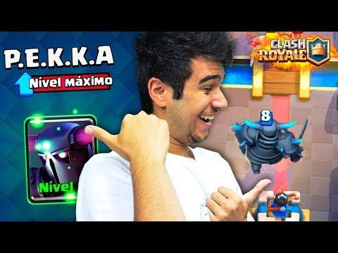 TESTANDO MINHA PEKKA NÍVEL MÁXIMO!! IMPOSSÍVEL PERDER - CLASH ROYALE