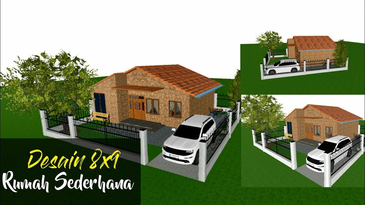 450 Gambar Rumah Sederhana 8 X 9 HD Terbaru