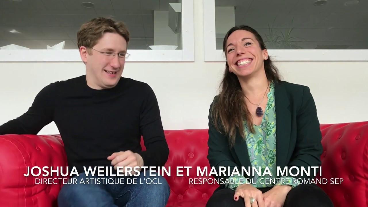 Interview croisée de Joshua Weilerstein et Marianna Monti.