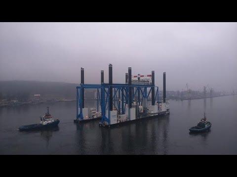 ZOURITE, une barge hors-norme construite sur mesure