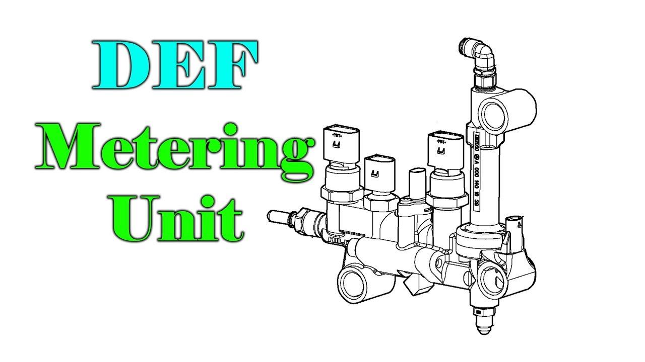 Detroit Diesel Def Metering Unit Youtube