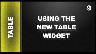 Web Design Tutorials for Xara Web Designer 9 Premium: Using The Table Widget Lesson 119