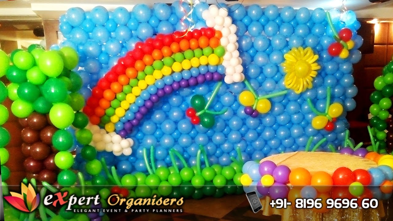 Birthday Party Balloon Decoration Pictures