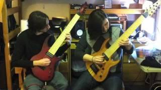 Native Construct - Chromatic Aberration [Guitar Play-through]