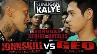 Repeat youtube video SUNUGAN KALYE - JOHNSKILL vs GEO   Mandaluyong