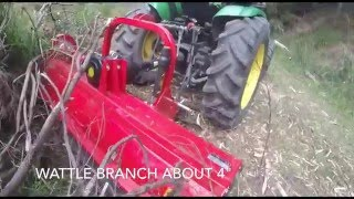 Flail mower Demo From Implements Direct