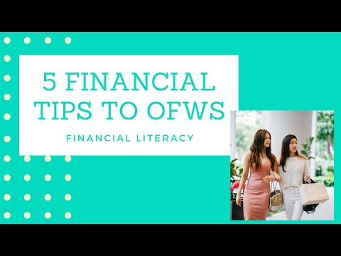 5 Financial Tips to OFWs