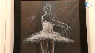 В Великом Новгороде открылась выставка итальянского художника Франческо Караччо «Безмолвие танца»