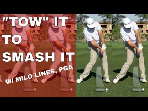 """TOW"" THE DRIVER THRU IMPACT! Milo Lines, PGA on Be Better Golf explains HOW TO HIT DRIVER"