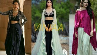 Top 10 Indo Western Dresses for Ladies || Indo Western Dress for Bride
