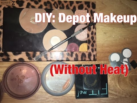 how to depot mac eyeshadows without heat