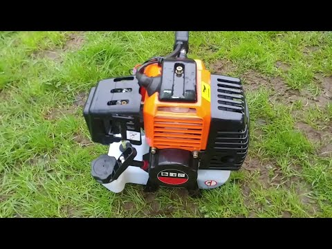 First Startup Of Timberpro Professional 62 CC Chainsaw