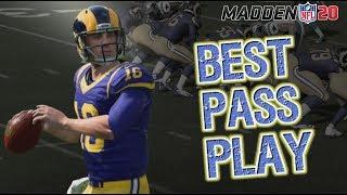 Best Under Center Pass Play in Madden 20!