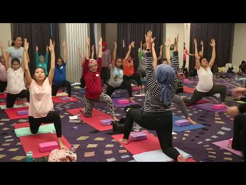 Prenatal Gentle Yoga special class jakarta, Juli 2018