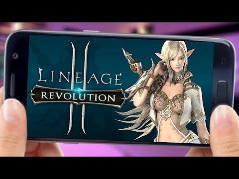 Lineage 2: Revolution - JOGO GRATUITO INCRÍVEL para ANDROID E IOS (MMORPG CELULAR - Gameplay PT-BR)