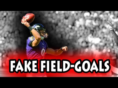 Football Fake Field Goals (NFL, NCAA, CFL)