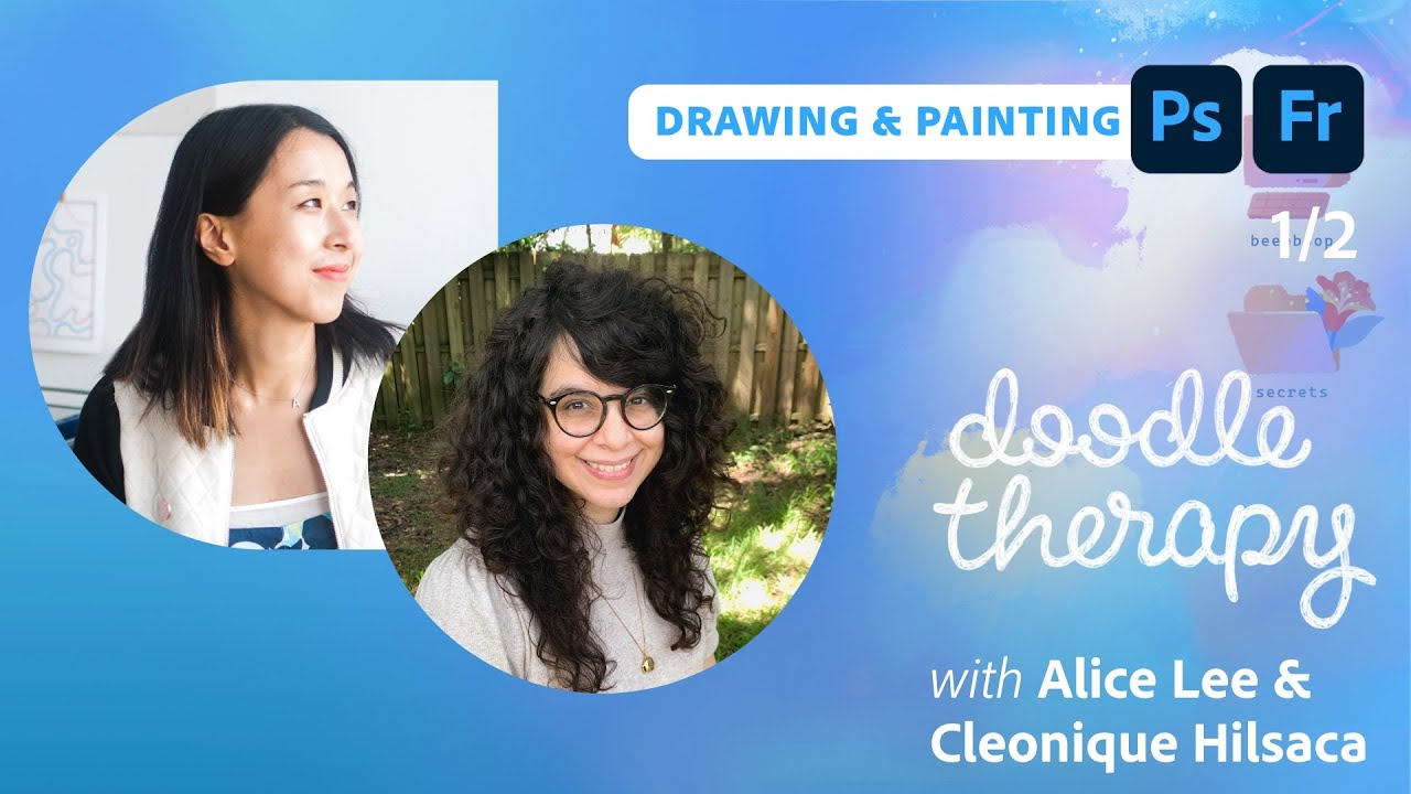 Doodle Therapy: Mythological Creatures with Cleonique Hilsaca & Alice Lee - 1 of 2
