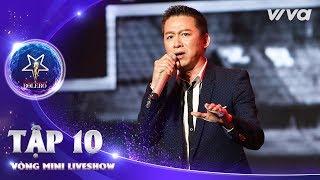 Tiền - Bùi Quang Long | Thần Tượng Bolero 2018 | Tập 10 - Vòng Mini Liveshow