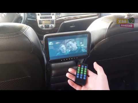 """Монитор 9"""" в авто для задних пассажиров."""