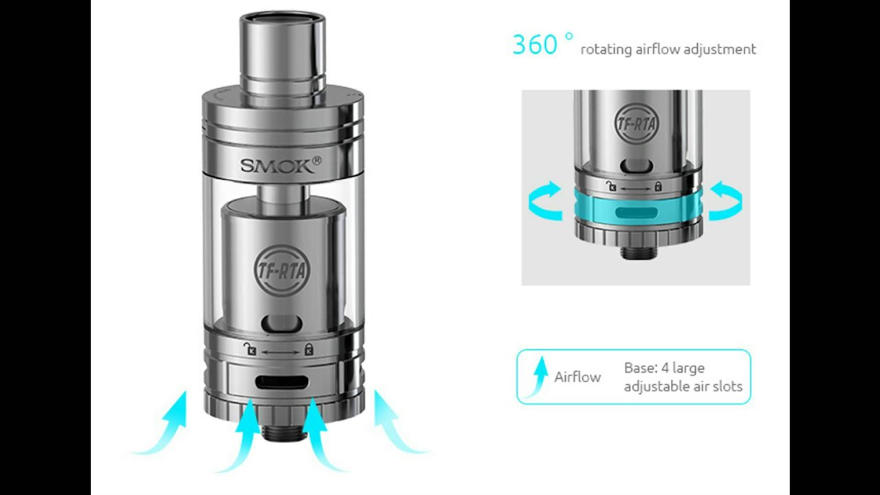 Smok Tf Rta Rebuildable G2 G4 Tank First Look