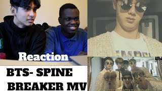 Video BTS - SPINE BREAKER MV REACTION [FILLED WITH MEMES] download MP3, 3GP, MP4, WEBM, AVI, FLV Juli 2018