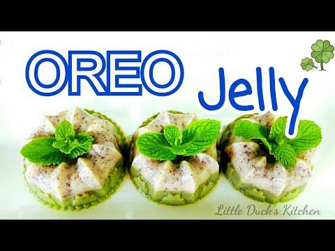 奥利奥燕菜果冻❤-how-to-make-oreo-jelly