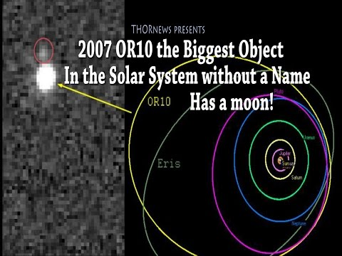 2007 OR10 The Largest Object in the Solar System without a Name has a Moon!