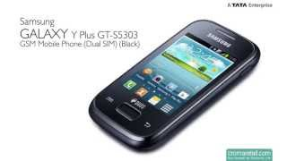 Samsung Galaxy Y Plus GT-S5303 GSM Mobile Phone (Dual SIM) (Black)
