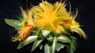 Feather Flower Hairpiece by Island Inspired Creativity