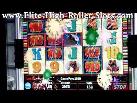 $20 Wolf Run Slot Machine! Highest Limit! Max Bet $8,000 Bucks! Handpay Jackpot IGT, Arist