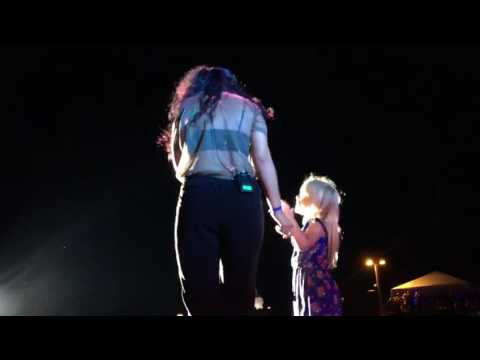 Lauren (one of our triplets) singing the Moana song with Alessia Cara
