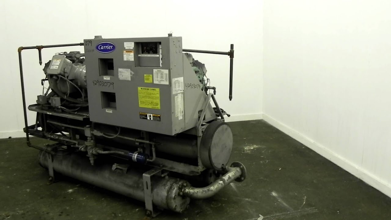 Used Carrier 60 Ton Package Chiller