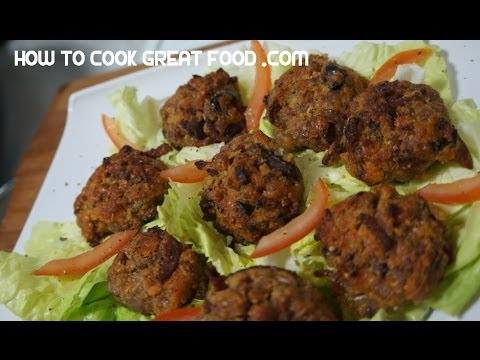 Stuffed Mushrooms Recipe - Cheese Garlic Spicy Sausage