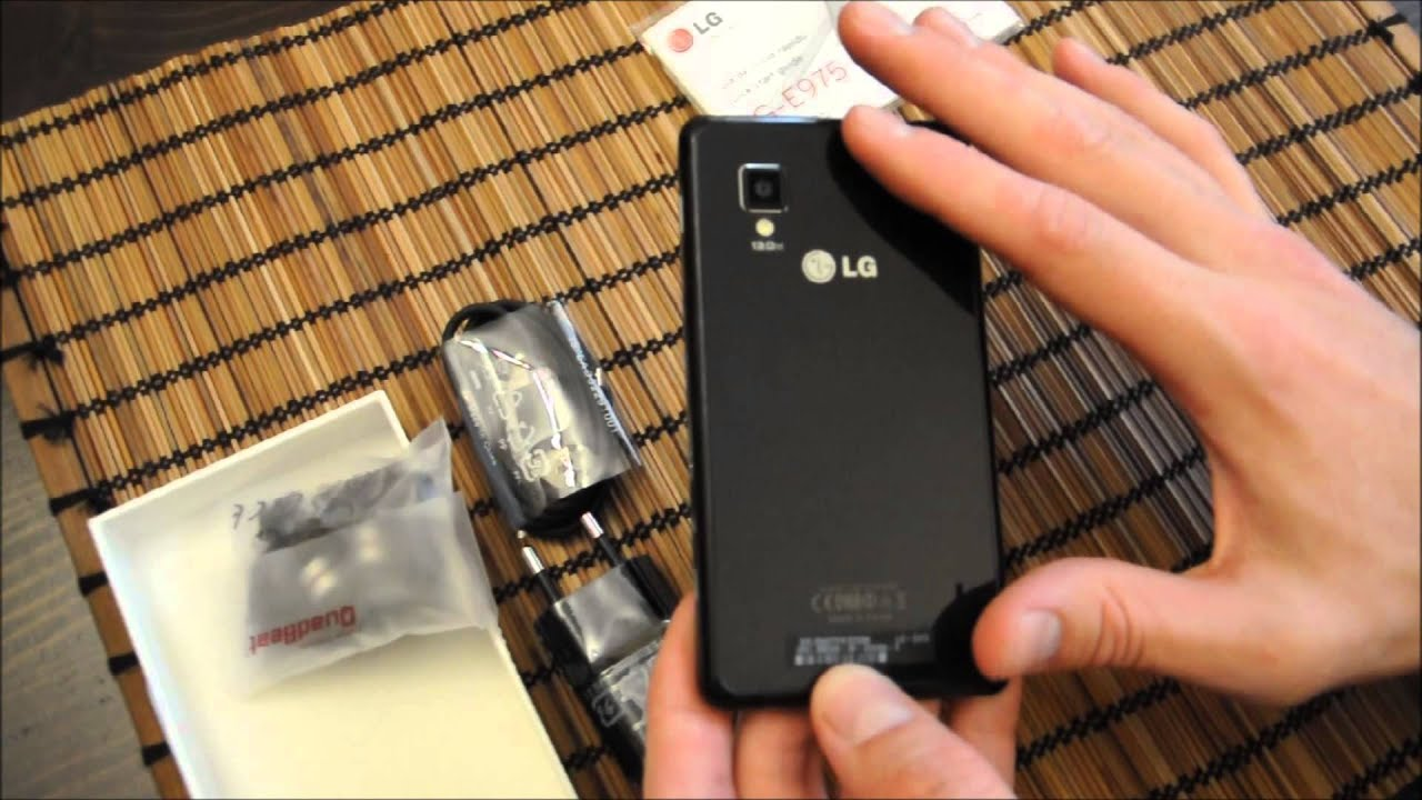 Unboxing LG Optimus G - YouTube