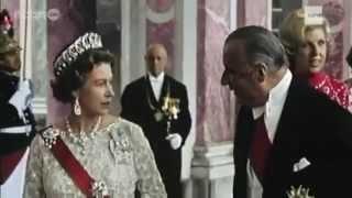 La reine Elisabeth à Versailles