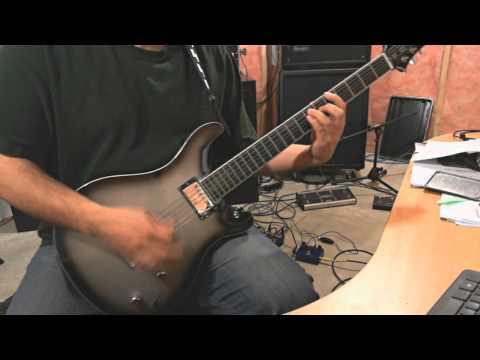 Stemm  Face The Pain guitar  HQ Audio Bogner Ecstasy clone pedal