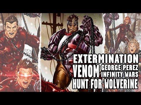 [MSF] Comic: Extermination, Venom, Hunt for Wolverine - Marvel Sin Filtro