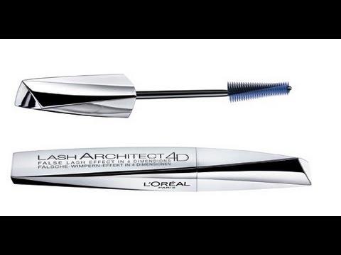 d9e7ef9289a L'OREAL Lash Architect 4D Mascara Review - YouTube
