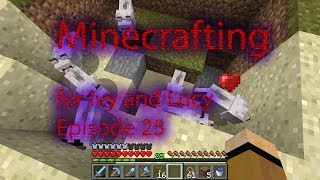 Minecrafting for Ivy and Lucy 25 - The mosh pit