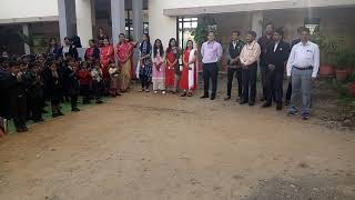 Green Valley Public School Celebrate Children's Day  Sarswati Vandana